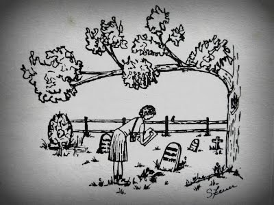Margaret Jenks Cemetery Illustration
